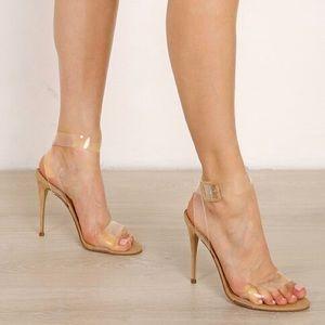 3761b778a6d46e Steve Madden Shoes - Steve Madden SeeMe Clear Sandals